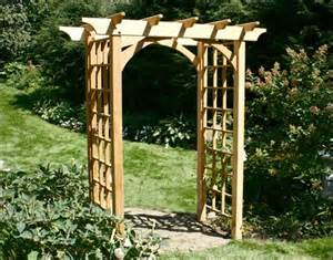 Arbor Trellis Plans by Garden Arbors And Trellises