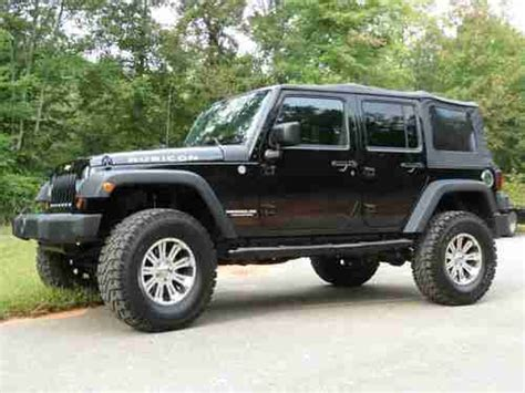 4 Door Jeep Soft Top For Sale Sell Used 2010 Jeep Rubicon 4x4 Unlimited 4 Door Soft Top