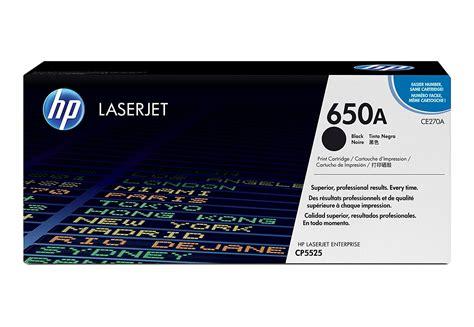 Toner Laserjet Hp 650a hp 650a black original laserjet toner cartridge help tech co ltd