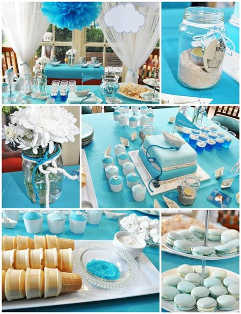 love boat theme party food kara s party ideas paper boat christening party planning