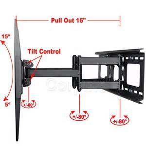 Murah Free Hdmi Cable Bracket Tv Import 32 50 Nort Bayou Dual Arm Tilt Tv Wall Mount For Lg Sanyo Sharp 39 Quot 40 42