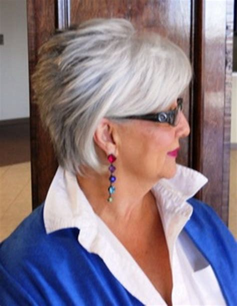 womens hair cuts for thick gray hair short haircuts for gray hair