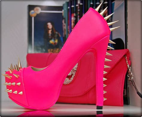 high heels for size 6 neon high heels shoe platform gold spikes multi
