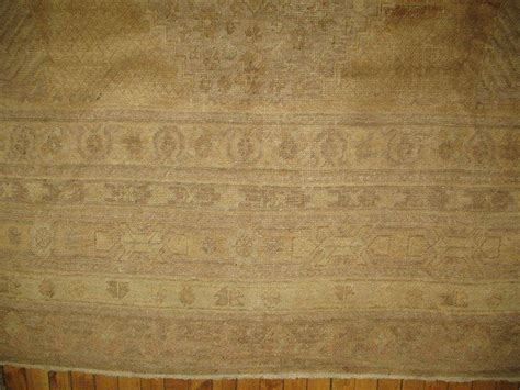 gold rugs for sale gold geometric khotan rug for sale at 1stdibs