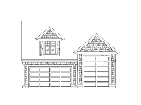 shop plans with loft rv garage plans craftsman style rv garage plan with loft