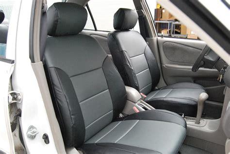 seat covers for 2014 toyota corolla toyota corolla 1998 2002 leather like custom seat cover ebay