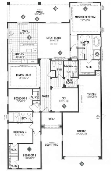 Mattamy Homes Floor Plans | mattamy homes ridgeview floor plan dove mtn