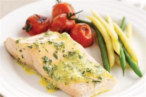 poached salmon recipes poached salmon fillets with blender bearnaise recipe