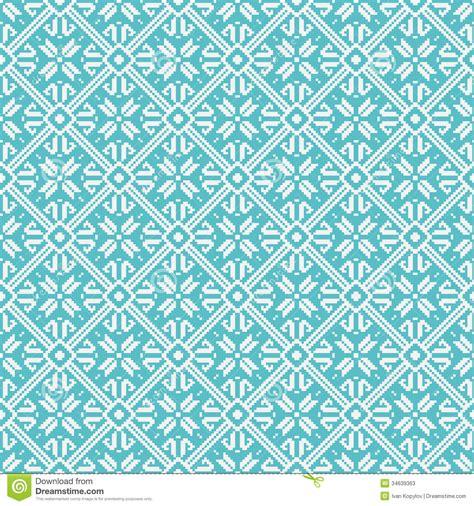 snowflake geometric pattern seamless snowflakes background geometric pattern stock