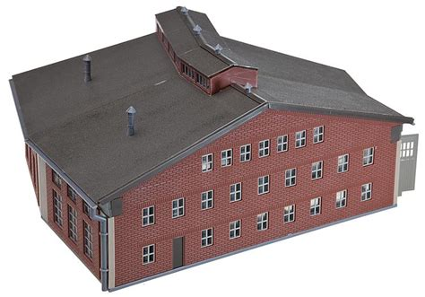 N Engine Shed by Faller 222118 N Scale 2 Stall Roundhouse Engine Shed Era I