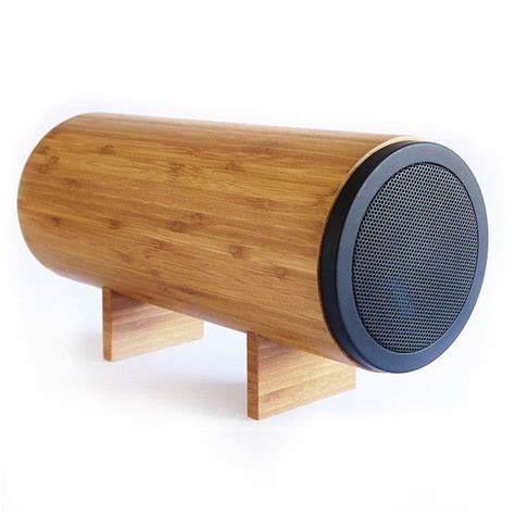 coolest speakers wooden speaker gadgets ideas inventions cool fun