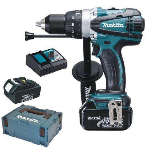 Bor Makita Cordless makita cordless hammer drill dhp458rmj dhp 458 rmj 18 v 4 0 ah bhp458 rfj rfe ebay