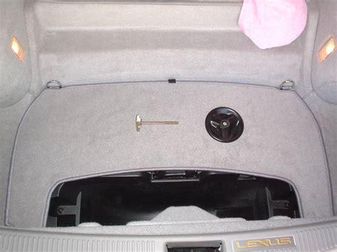 Lexus Sc430 Spare Tire by Spare Tire Kit Page 4 Clublexus Lexus Forum Discussion