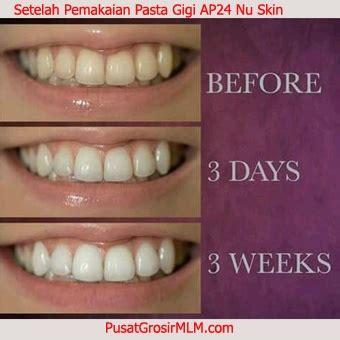 Pemutih Nu Skin pasta gigi ap24 nu skin solusi pemutih gigi alami aman