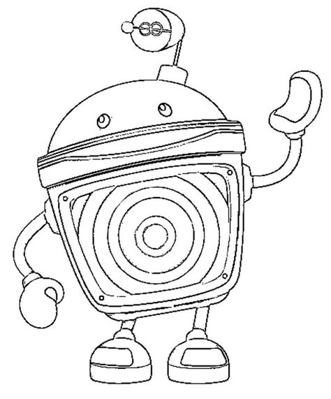 team umizoomi bot coloring page team umizoomi coloring pages getcoloringpages com