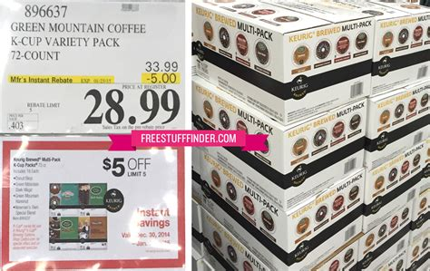 *HOT* $0.40 per K Cup at Costco ($28.99 for 72 Count Box)   Free Stuff Finder
