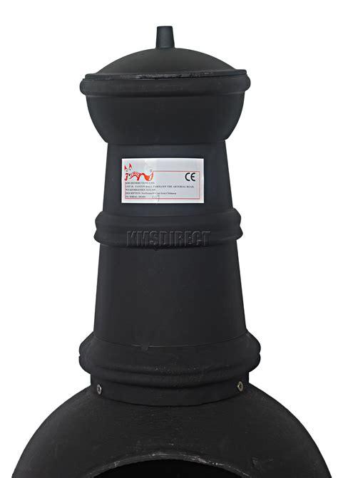 cast iron patio heater foxhunter garden cast iron steel chimenea chiminea chimnea