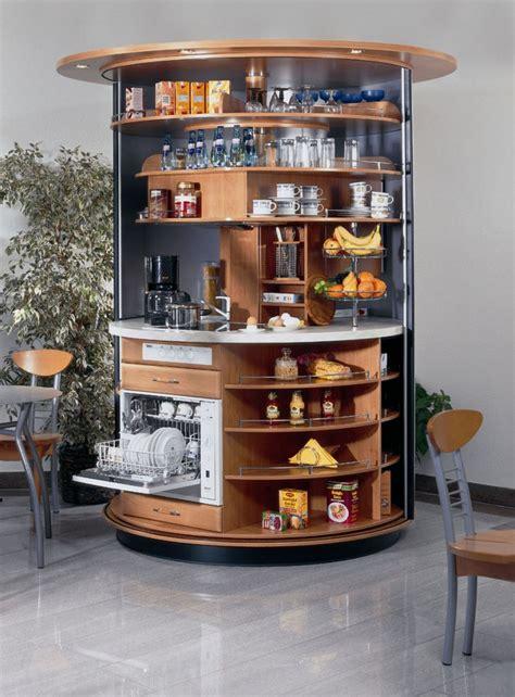 cuisine compacte design cuisine compacte circulaire tournante