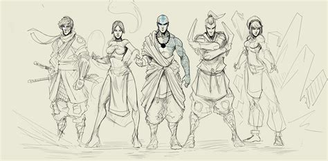 How To Draw Team Avatar