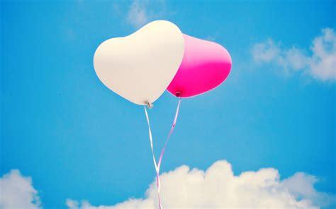 pink balloon wallpaper white pink heart balloons wallpaper
