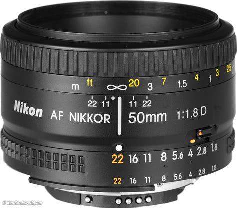 Nikon Lensa Af Nikkor 50mm F 1 8d nikon 50mm f 1 8 d review