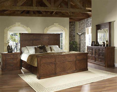 melina elegant traditional storage bedroom set