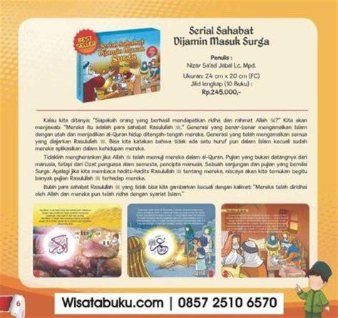 Serial Buku Anak Kisah 10 Sahabat Nabi Yang Dijamin Masuk Surga buku islam archives page 118 of 127 wisata buku islam