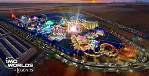 World Amusement Park Img Worlds Of Legends Theme Park In Dubai To Feature