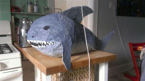 homemade shark pinata kids pinterest sharks  homemade