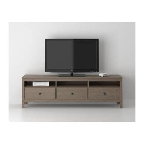 tv bench unit hemnes tv b 228 nk ikea massivt tr 228 ger en naturlig k 228 nsla