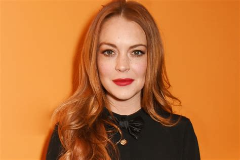 Lindsay Lohan by Shakeup With Lindsay Lohan S Management Team Page Six