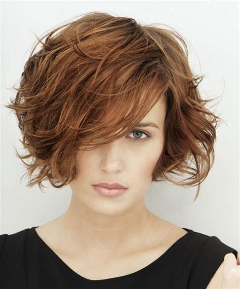 haircut bob wavy hair short wavy bob hairstyles 2017 76 with short wavy bob