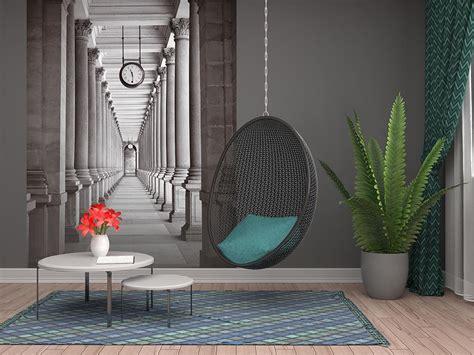 effect wallpaper designs visually enlarge room
