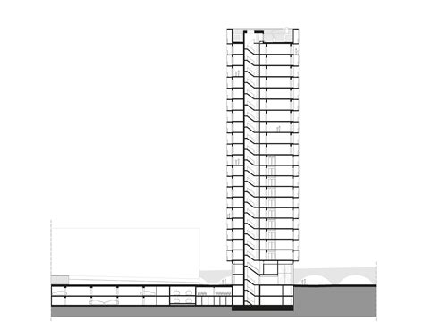 what is section a gallery of park tower studio farris architects 19