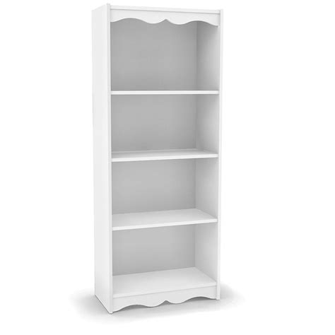 cheap white bookshelf the best shelf design