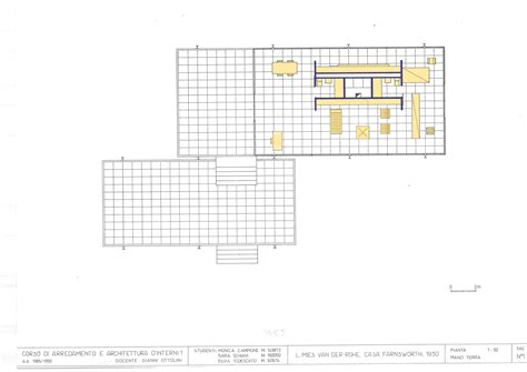 mies van der rohe farnsworth house plan mies van der rohe farnsworth house plans