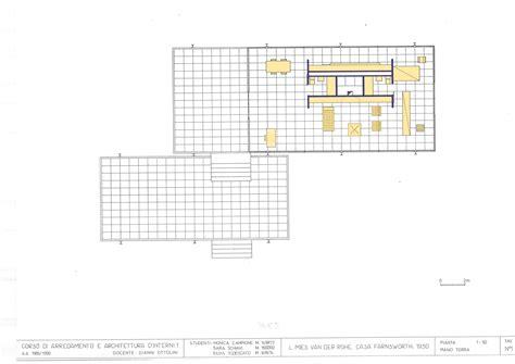 mies van der rohe farnsworth house plan mies van der rohe farnsworth house plans