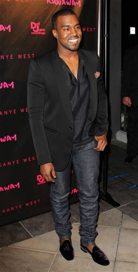 kanye west loafers kanye west in classic sunglasses and stubbs