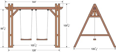 dimensions of a swing set rory s big playground swing set forever redwood