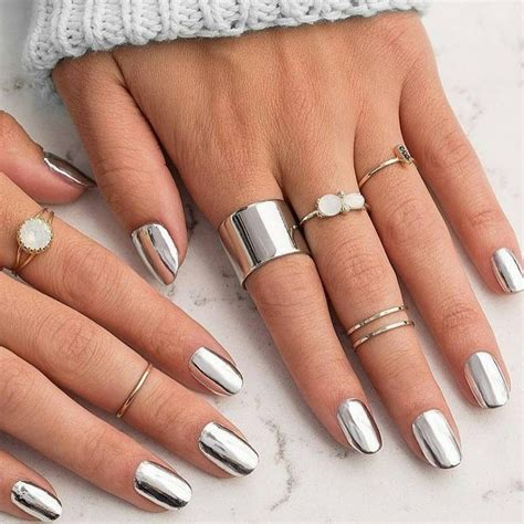 the nail polish colors everyone will be wearing this fall finally you can get a chrome manicure at home with just a