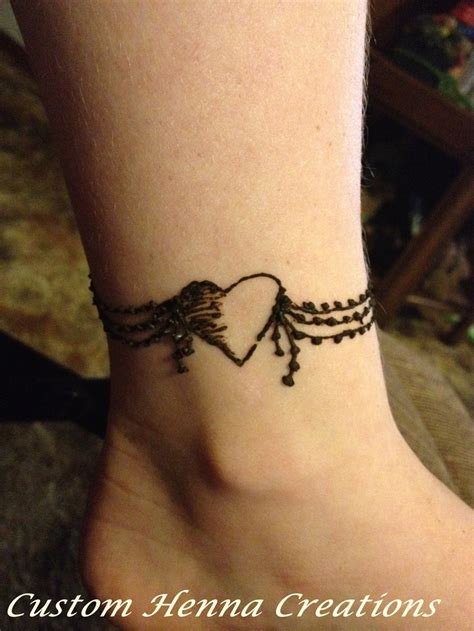 tattoo anklets designs best 25 ankle henna ideas on henna ink