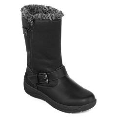 winter boots black all boots for shoes jcpenney