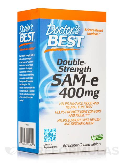 Sam E Liver Detox by Strength Sam E 400 Mg 60 Enteric Coated Tablets