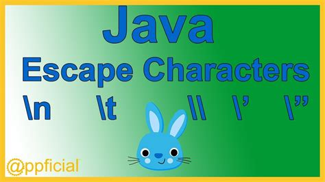 java pattern escape quote java escape characters newline backslash single and