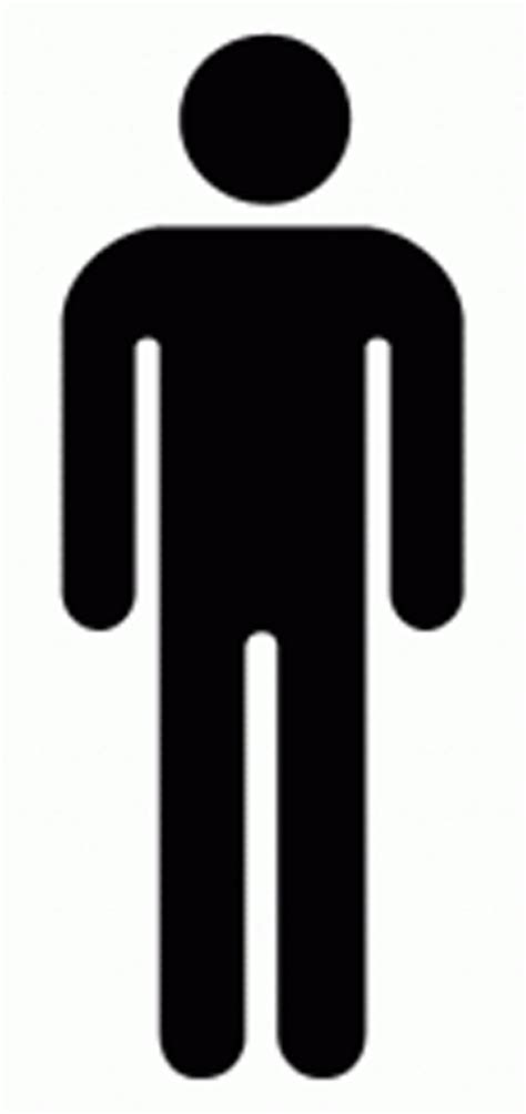 bathroom man mens bathroom sign cliparts co