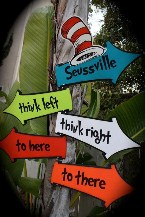 dr seuss whoville board welcome dr seuss cat in the hat whimsical directional signs
