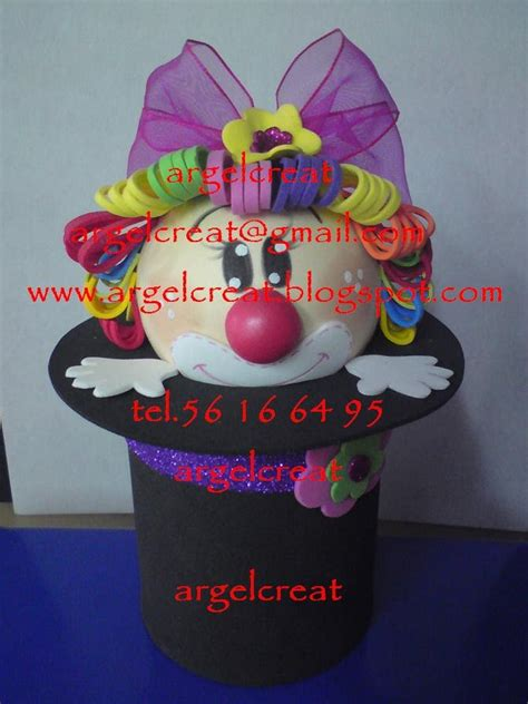 pin dulceros payaso on pinterest pin payaso fomi termoformado ajilbabcom portal on pinterest