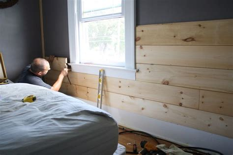 Installing Shiplap Drywall Installing Shiplap Siding Our Home