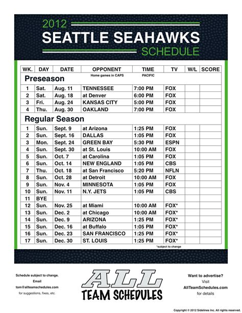printable seahawks schedule 2015 2016 related keywords suggestions for seahawks schedule 2015 2016