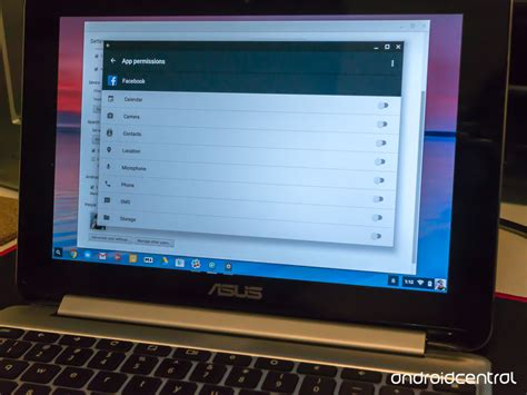 chromebook android apps how to change android app permissions on your chromebook android central